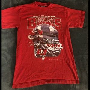 1999-2000 buccaneers t shirt road to the SuperBowl